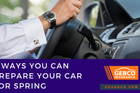 Prepare Your Car For Spring