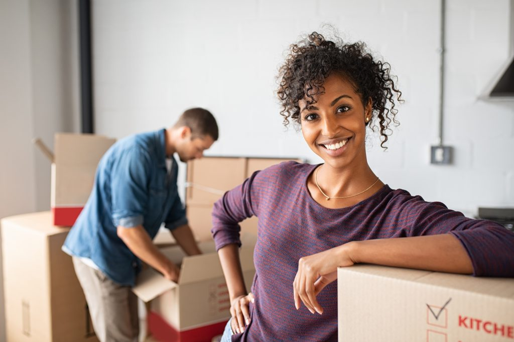 When you're moving into a new apartment, make sure you set up utilities and change your address.